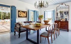 salle à manger ameublement rustique design déco rétro simple