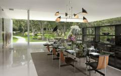 salle à manger demeure prestigieuse santa barbara