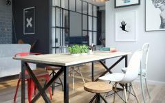 salle à manger logement citadin moderne