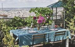 bel appartement paris belle vue terrasse sur le toit