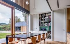 salle à manger maison intérieur minimaliste architecte