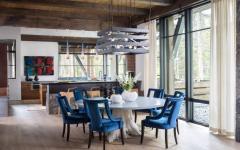 cuisine salle à manger rustique déco aménagement résidence secondaire luxe