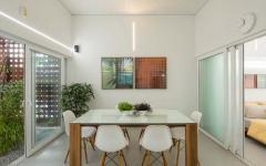 salle à manger design minimaliste ameublement chic