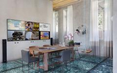 salle à manger design moderne rénovée