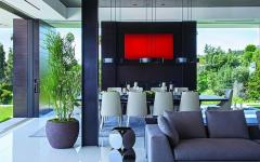 salle à  manger résidence luxueuse bevery hills