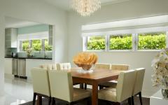 salle à manger villa de luxe vacances