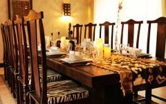 salle à manger location de vacances luxe