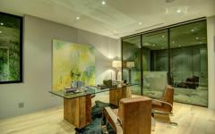 bureau chic artistique villa moderne