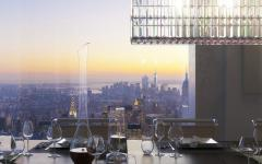 table luxe appartement de standing 432 park avenue