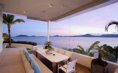 vue romantique exotique mer vacances