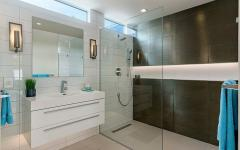 douche design salle de bains unique