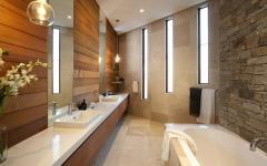 salle de bains de maison moderne design