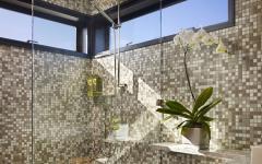 salle de bain maison sur l'eau flottante