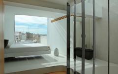 suite chambre principale avec salle de bain privative