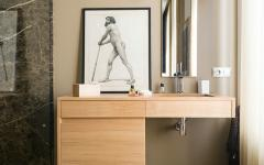 mobilier unique salle de bains design