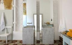 salle de bains originale vacances en italie capri