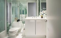 salle de bain design agréable