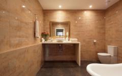 salle de bains moderne appartement