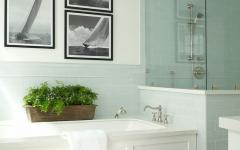 grande salle de bains design classique