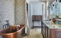 salle de bain claire maison de luxe vacances exotiques