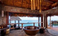 baignoire vue sur la mer laucala complexe