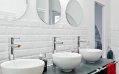 trois vasque grande salle de bains