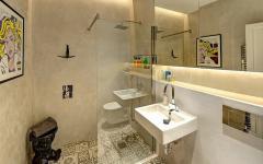 salle de bains design appartement de ville