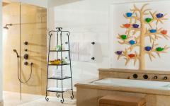 belle salle de bains design luxueux