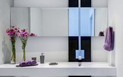 intérieur salle de bain minimaliste design luxe