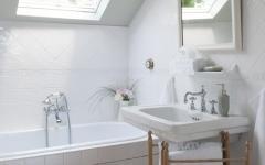 Salle de bain rustique maison de vacances campagne