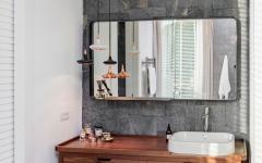 design éclectique salle de bains maison de charme
