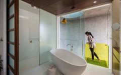 salle de bain design original maison de ville