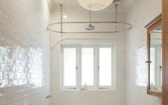 salle de bain design retro baignoire sur pieds
