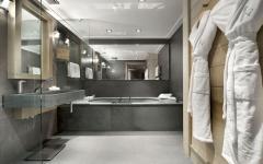 salle de bain individuelle villa de luxe rustique