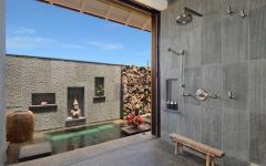 villa de rêve salle de bain design luxe