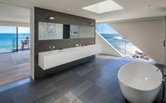 salle de bains vue mer
