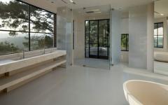 espace imposant impressionnant de cette maison de luxe bel air californie