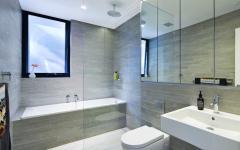 idées aménagement salle de bains moderne