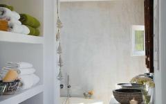salle de bain rustique maison sécondaire baléares