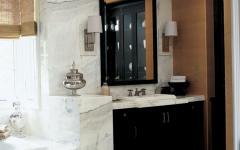salle de bains rustique marbre