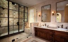 verrière douche extérieure intérieure salle de bain
