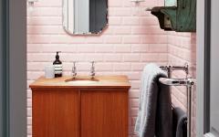 salle de bains carreaux retro