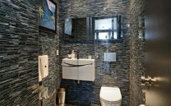 salle de bains design foncé immobililer de luxe manhattan