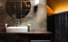 lavabo salle de bain comble