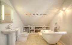 aménagement des combles maison neuve salle de bains