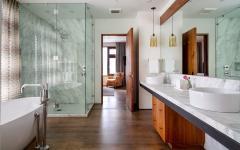 salle de bain design luxe maison de vacances rustique