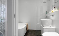 belle salle de bain design scandinave épuré