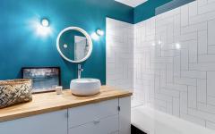 salle de bains studio rénové