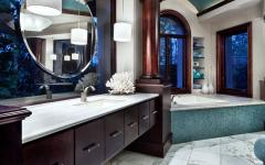 salle de bain suite parentale résidence de grand standing luxe