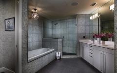 salle de bain contemporaine éclectique